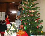 マキキ教会のクリスマスツリー