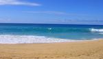 サンディービーチのショアブレイク