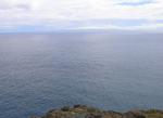 水平線のモロカイ島