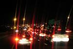 夜の大渋滞