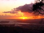 タンタラスの丘からのサンセット