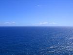 カイヴィ海峡のモロカイ島