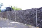 道具置き場のフェンス